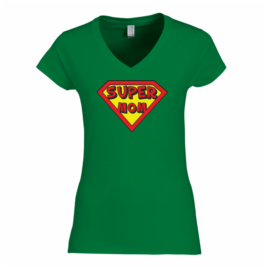 super mom t-shirt moederdag