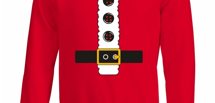 Kersttrui Kerstman.Top 5 Christmas Sweaters Digitransfer