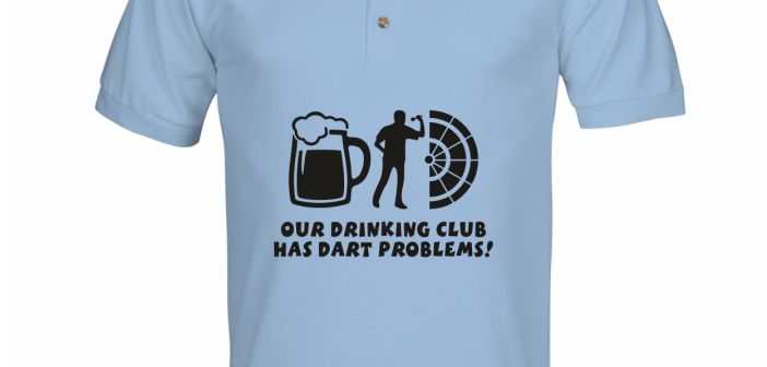 Our drinking team has a drink problem shirt