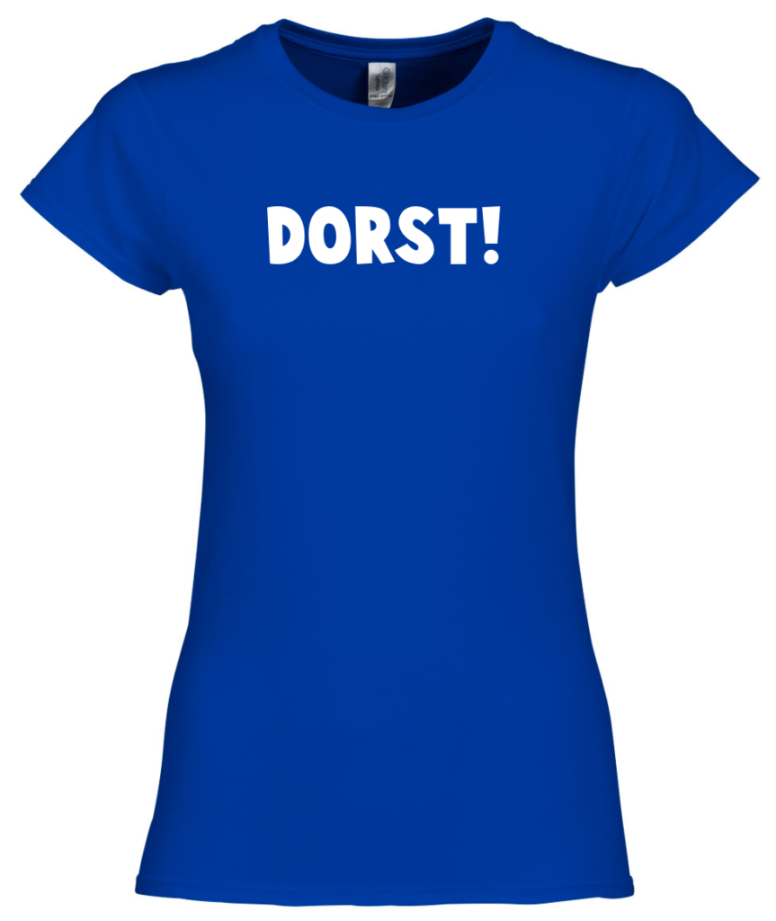 Dorst t-shirt voor carnaval shirts, carnaval outfit