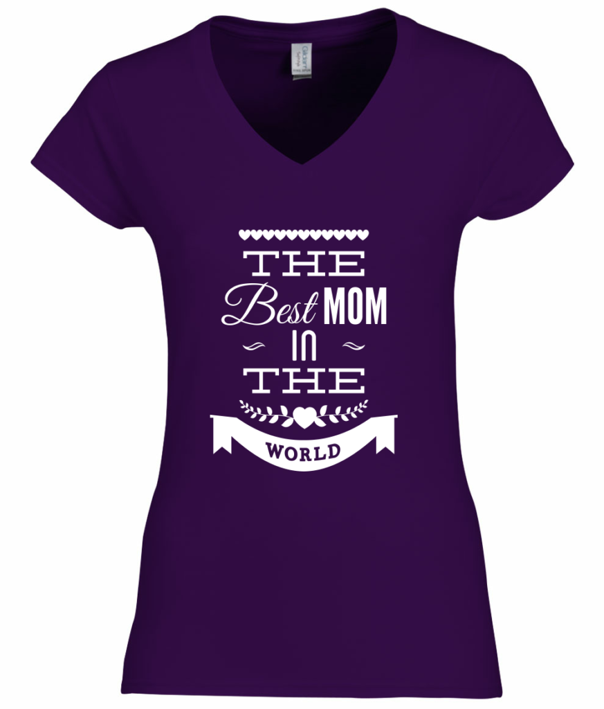 The best mom in the world  tshirt - internationale vrouwendag shirt