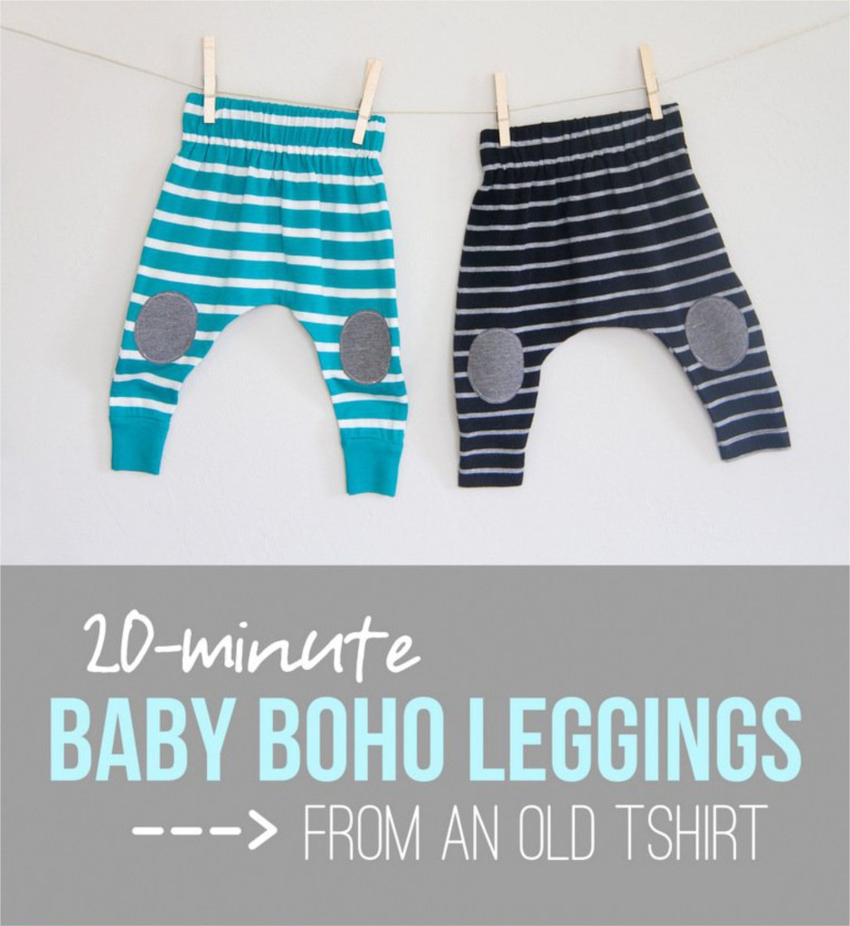 DIY Baby Boho Leggings