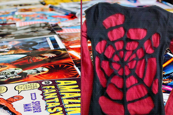 Spiderman DIY T-shirt