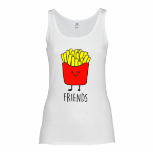 Best Friends shirt - fries