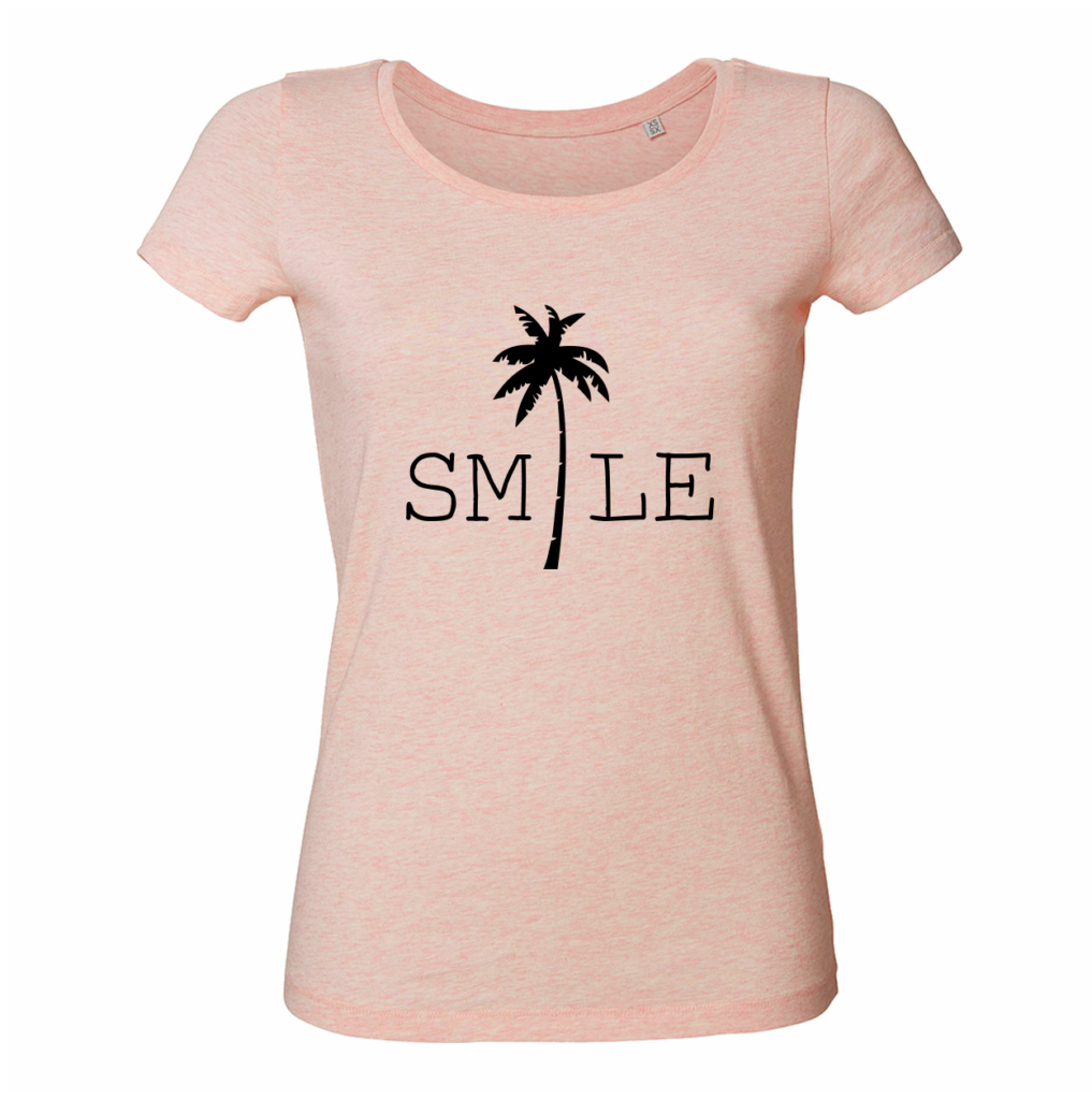 Travel shirts - Smile palm tree