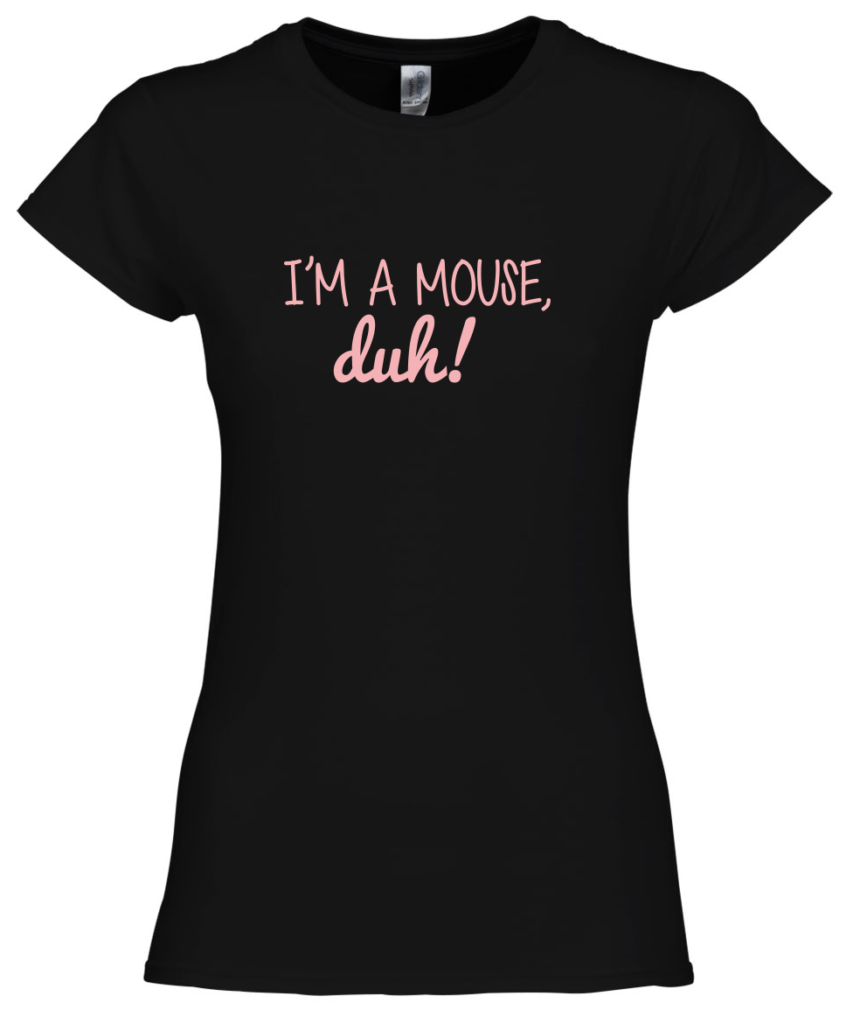 Im a mouse, duh! Mean Girls T-shirt - originele Halloween outfit