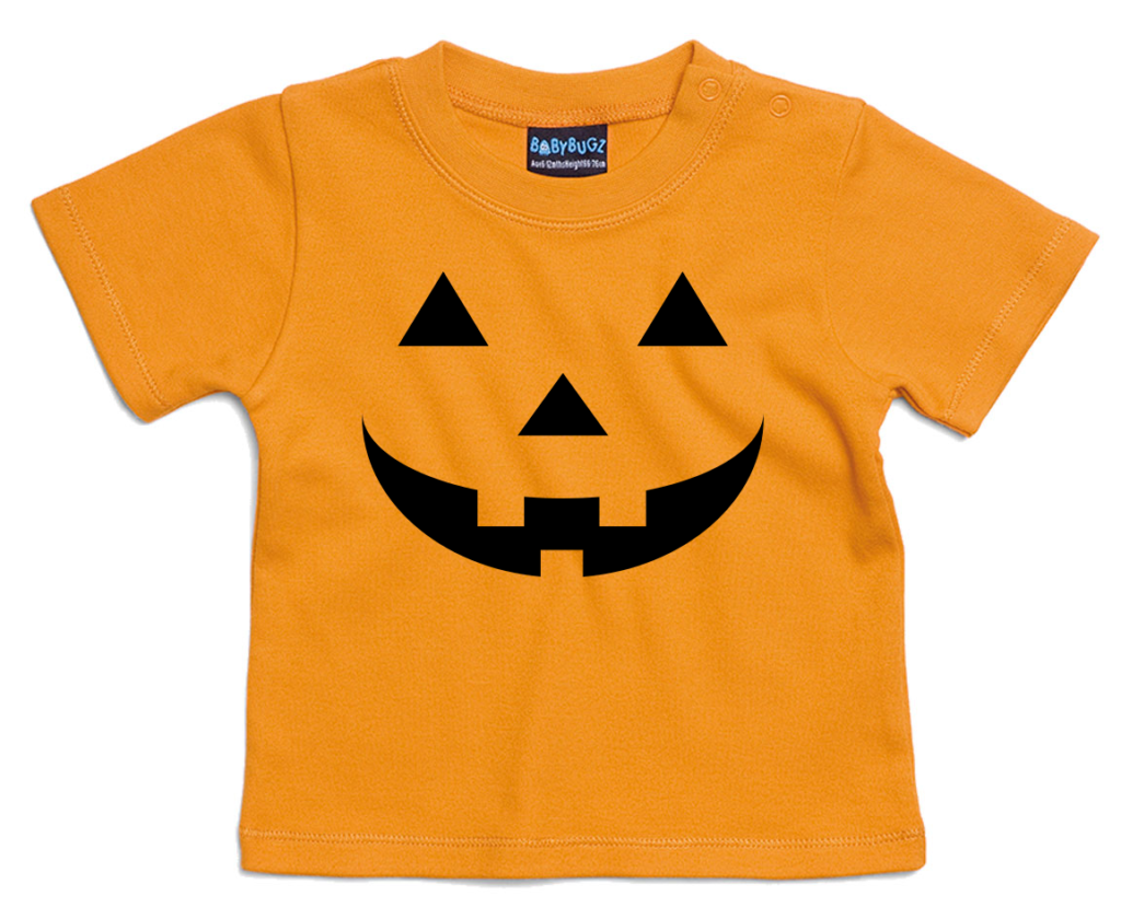 Pompoen Halloween kinder T-shirt - originele Halloween outfit