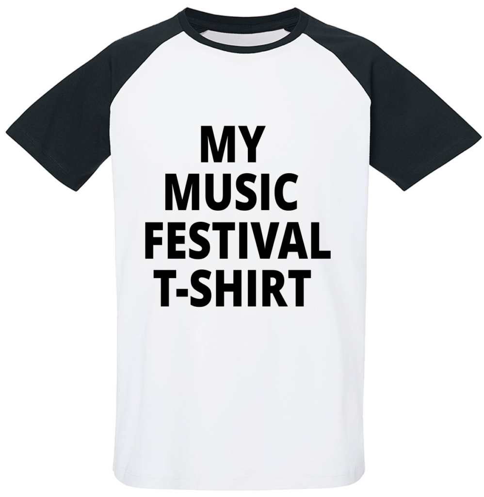 My music festival t-shirt - festival outfit - shirts