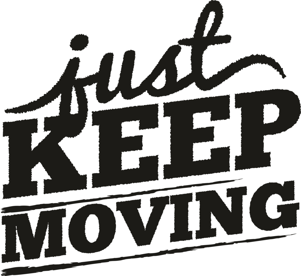 Just keep moving - Vierdaagse t-shirt bedrukken