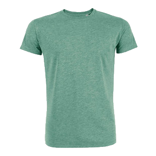 Heren T-shirt medium fit 100% organic katoen